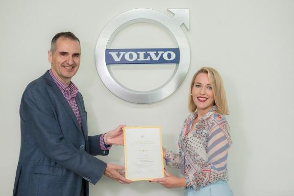 Volvo Cars: Επιβράβευση της Ευτυχίας Τζιάλα της Volvo Maxx Motors