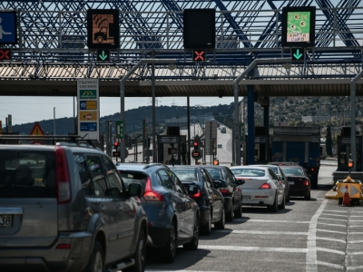 Τουλάχιστον 65.385 οχήματα πέρασαν τα διόδια Ελευσίνας και Αφιδνών - Κίνηση και στα λιμάνια