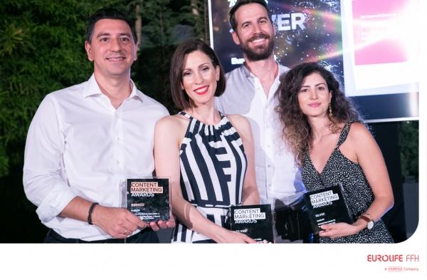 Eurolife FFH: Τριπλή διάκριση στα Content Marketing Awards 2021