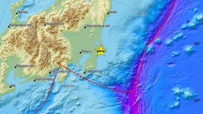 Σεισμός 5,6 Ρίχτερ στην Ιαπωνία