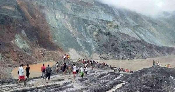 Μιανμάρ: Τουλάχιστον 50 νεκροί από κατολίσθηση σε ορυχείο