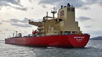 Η Capital Ship Management Corp. παρέλαβε το M/T 'Aristofanis'
