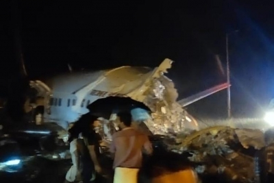 Συνετρίβη αεροσκάφος με 190 επιβάτες στην Ινδία