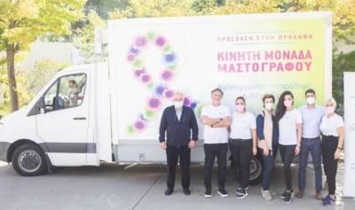 Δωρεάν εξετάσεις μαστού από την Ευρωκλινική και την Ελληνική Αντικαρκινική Εταιρεία