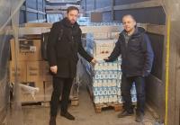 Στην Αλβανία η ανθρωπιστική βοήθεια του Ε.Ε.Α.