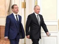 Παραιτήθηκε ο Μεντβέντεφ και όλη η κυβέρνηση της Ρωσίας