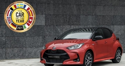 To Toyota Yaris κατέκτησε τον τίτλο European Car Of The Year 2021