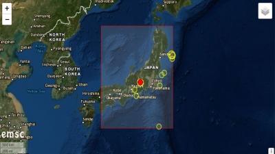 Σεισμική δόνηση 4,9 Ρίχτερ στην Ιαπωνία