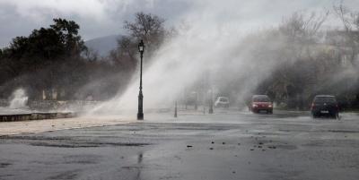 Έρχονται ισχυρές καταιγίδες, θυελλώδεις άνεμοι και πτώση της θερμοκρασίας