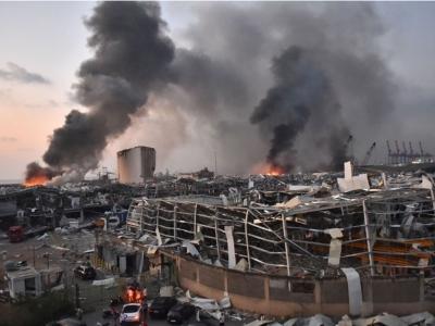 Εκρήξεις στη Βηρυτό: Ξεπέρασαν τους 100 οι νεκροί, σχεδόν 4.000 τραυματίες και πολλοί αγνοούμενοι