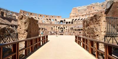 Νέο πάτωμα στο Κολοσσαίο για απόλυτη αίσθηση... μονομαχίας