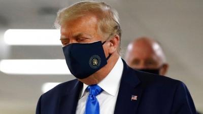 Ο Ντόναλντ Τραμπ φόρεσε τελικά... τη μάσκα