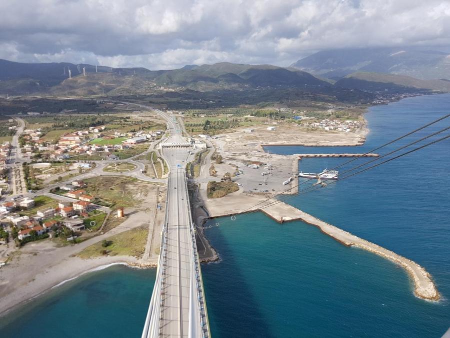 ΤΑΙΠΕΔ: Έναρξη διεθνούς διαγωνισμού για τον πρώην εργοταξιακό χώρο του έργου ζεύξης Ρίου - Αντιρρίου