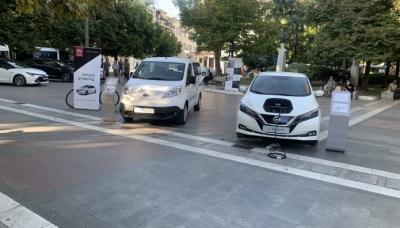 Τα Nissan LEAF & e-NV200 στην Ευρωπαϊκή Εβδομάδα Κινητικότητας της Λάρισας
