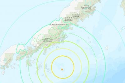 Σεισμός 7,8 Ρίχτερ στην Αλάσκα