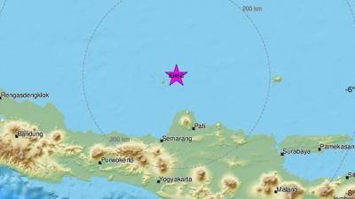 Ινδονησία: Σεισμική δόνηση 6,6 βαθμών ανοικτά της Ιάβας