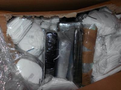 Βρετανία: Κοκαΐνη αξίας άνω του $1,3 εκατ. κρυμμένη σε φορτίο με ιατρικές μάσκες