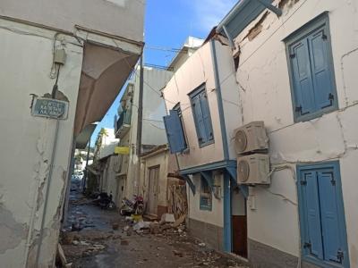 Πλήρης κάλυψη ασφαλιστικών εισφορών σε επιχειρήσεις-εργοδότες που επλήγησαν από το σεισμό στη Σάμο