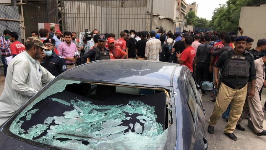 Πακιστάν: Ένοπλοι επιτέθηκαν στο Χρηματιστήριο του Καράτσι - Έξι νεκροί