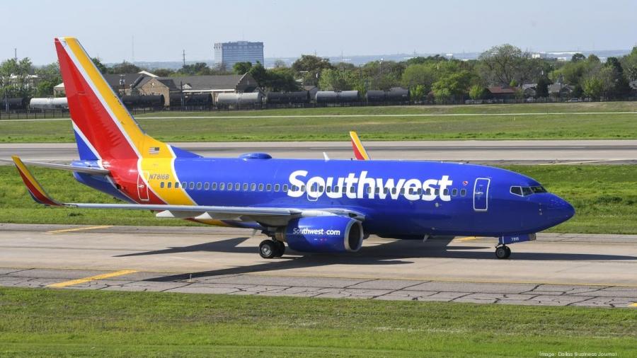 Southwest Airlines: Ανακοίνωσε ζημιές άνω των 900 εκατ. δολαρίων το δ΄ τρίμηνο