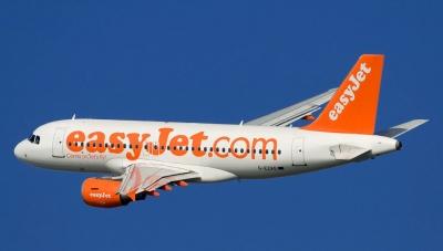 EasyJet: Αύξηση 8,8% στα έσοδα ανά επιβάτη για το α΄ τρίμηνο χρήσης του 2020
