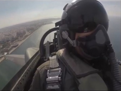 Το φετινό μήνυμα του πιλότου του F-16 ΖΕΥΣ από τους ουρανούς