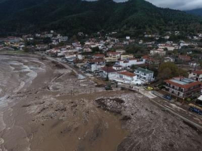Αποζημιώσεις 6,4 εκατ. ευρώ από τις πλημμύρες του «Γηρυόνη»
