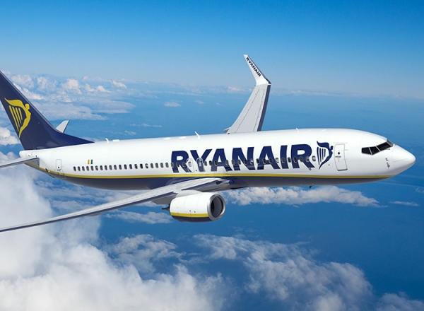 Ryanair: Μείωση της χωρητικότητάς της τον Οκτώβριο στο 40%