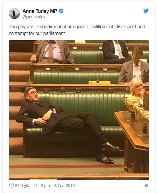υπουργος αποκοιμιοταν brexit